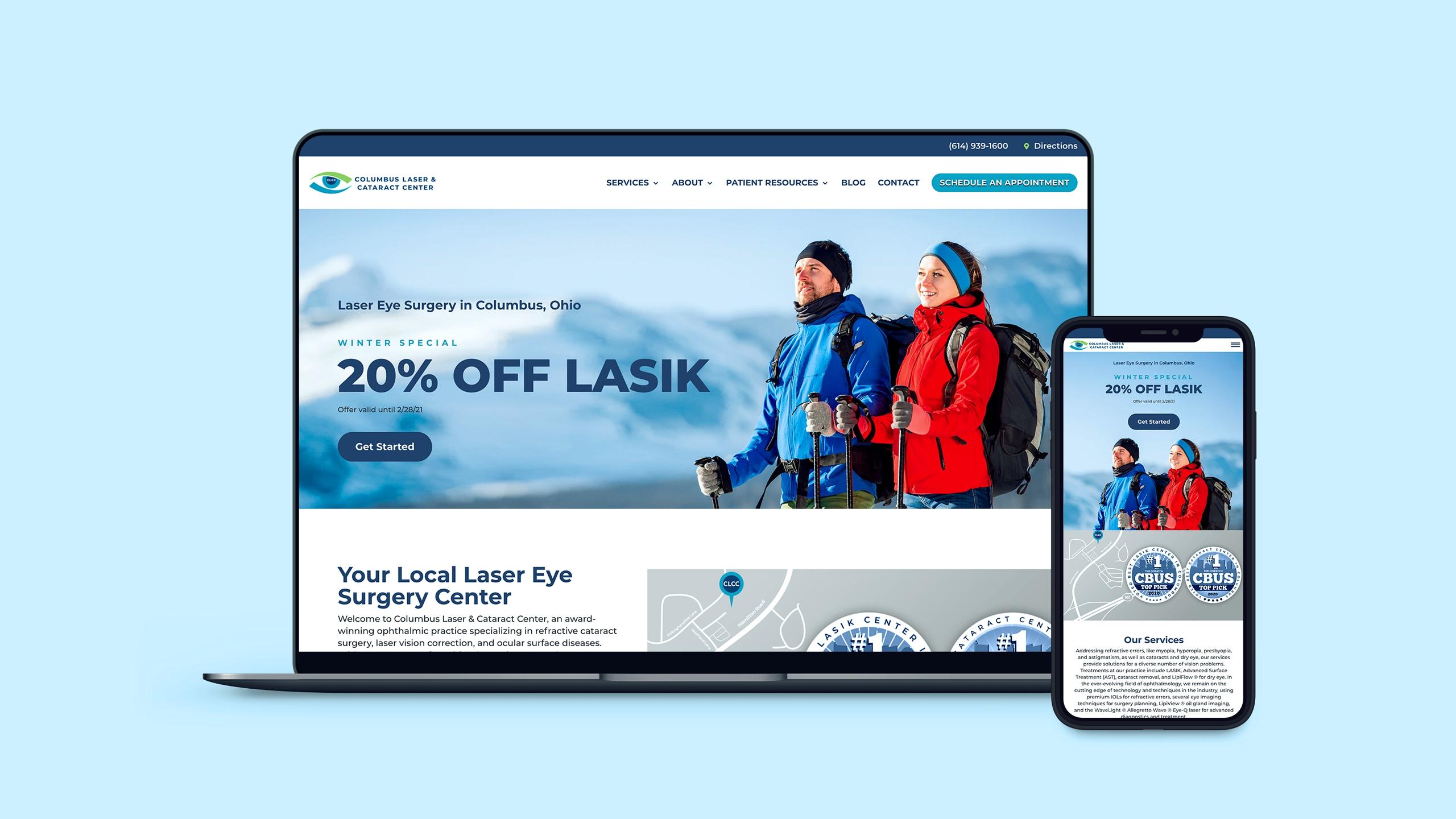 columbus digital marketing website example