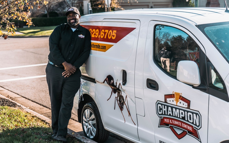 owner of champion pest and termite control