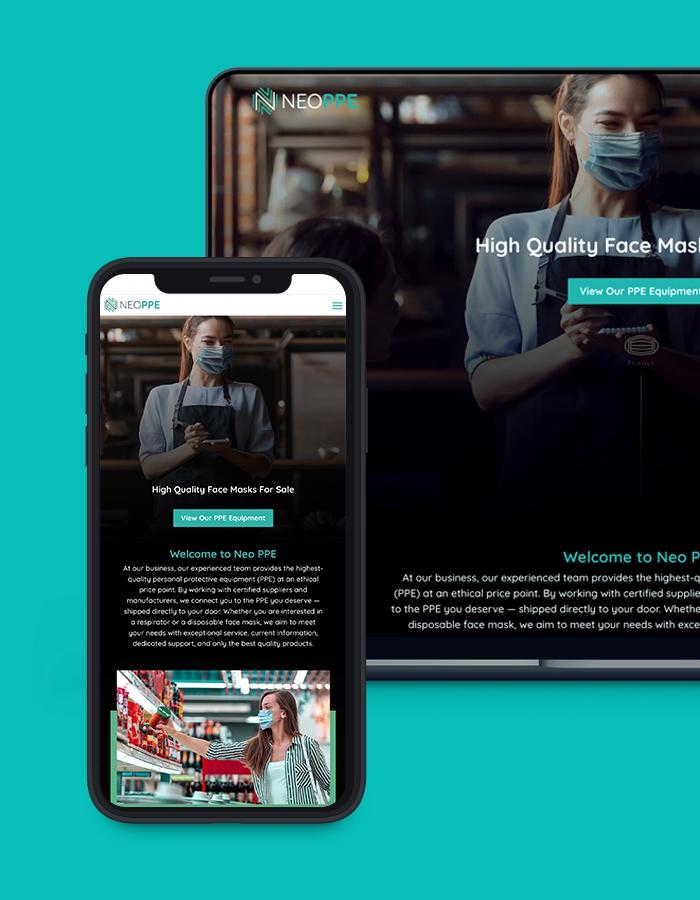 columbus web design project